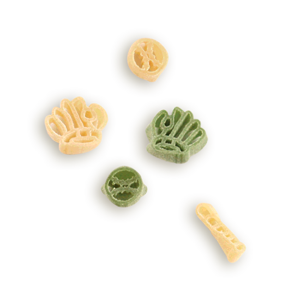 Baseball Bats, Gloves & Balls Pasta Shapes- Baseball pasta is a home run every time. Makes a great gift.