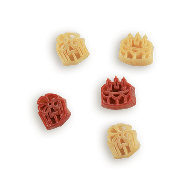 Birthday Cakes & Presents Pasta Shapes- A delicious way to celebrate every birthday! Kids of all ages love our pasta - makes a great birthday