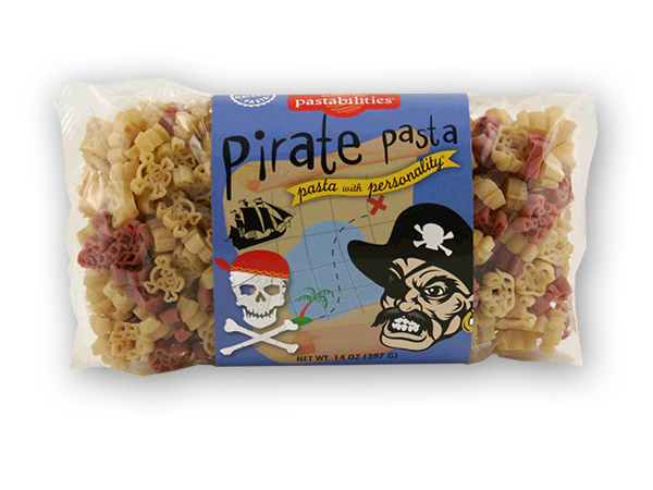 Pirate Pasta - AARGGGGHHH....this Pasta is GOOD! Fun for pirates of all ages! A