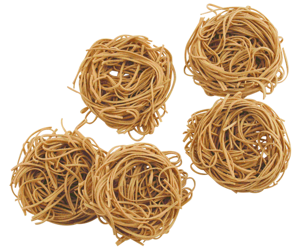 Light, fluffy, AND healthy! Even your kids will love our 100% whole wheat angel hair pasta nests - a great option with any sauce. 100 calories per nest.  12 nests per bag make portion control simple! Shop now to support your group! | funpastafundraising.com